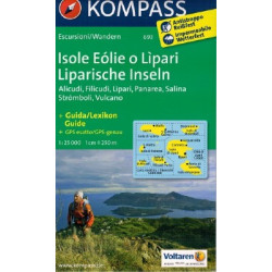 CARTA KOMPASS 693 ISOLE EOLIE