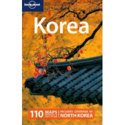 KOREA - LONELY PLANET (langue anglaise)