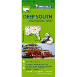 DEEP SOUTH MISSISIPI TO FLORIDA MICHELIN
