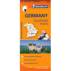 GERMANIA SUD EST, BAVARIA - MICHELIN