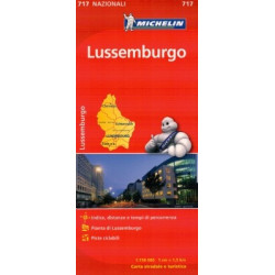 LUXEMBOURG 717 MICHELIN