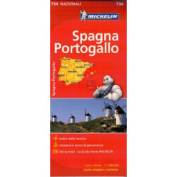 SPAIN - PORTUGAL MICHELIN