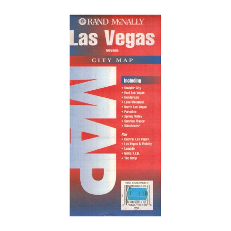 LAS VEGAS RAND MCNALLY CITY MAP