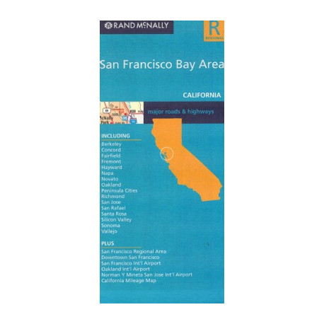 SAN FRANCISCO BAY AREA RAND MCNALLY