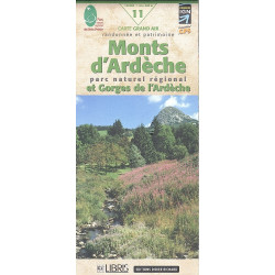 MONTS D'ARDECHE - Carta D&R 11