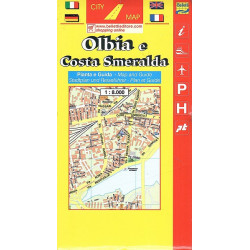 carta OLBIA E COSTA SMERALDA Belletti