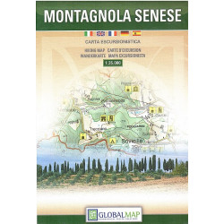 MONTAGNOLA SENESE carta Global Map