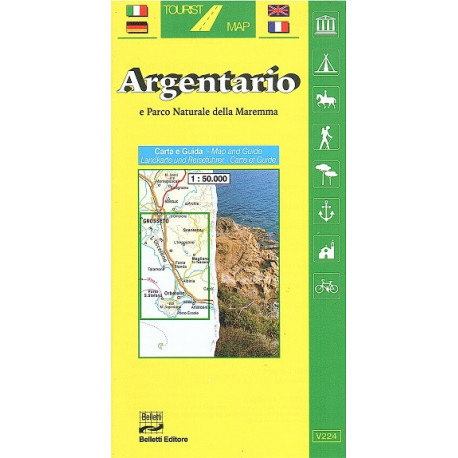 ARGENTARIO Tourist Map Belletti