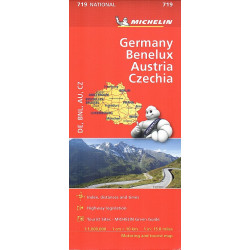 GERMANIA-BENELUX-AUSTRIA-CZECHIA 719 MICHELIN