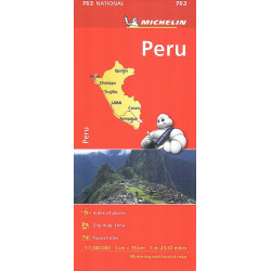 PERU' carta 763 MICHELIN