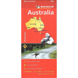 AUSTRALIA carta 785 MICHELIN