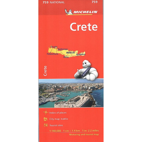CRETA carta 759 MICHELIN