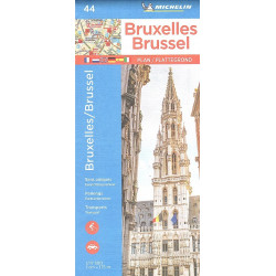 44 BRUXELLES PLAN Michelin