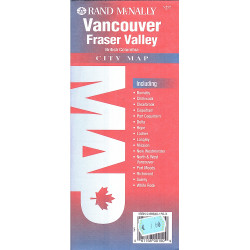 VANCOUVER FRASER VALLEY RAND MCNALLY