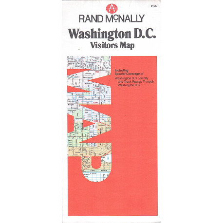 WASHINGTON RANDMCNALLY CITY MAP
