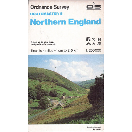 NORTHERN ENGLAND Ordnance Survey