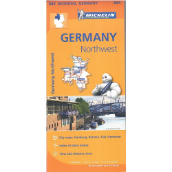GERMANIA NORD-OVEST 541 MICHELIN