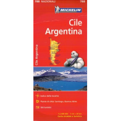 CHILE - ARGENTINIEN MICHELIN