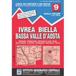 Ivrea Biella Low Aosta Valley