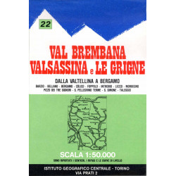Val Brembana, Valsassina and Grigne
