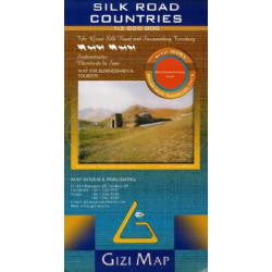SILK WAY LÄNDER GIZI MAP
