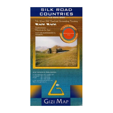 SILK ROAD COUNTRIES GIZI MAP