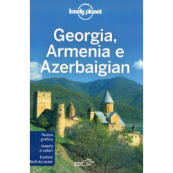 GEORGIA, ARMENIA AND AZERBAIJAN 4 LONELY PLANET